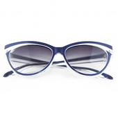 Collectif Classic 50s Sunglasses Navy