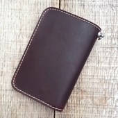 Pike Brothers 1965 Rider Wallet Cognac