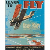 Learn To Fly Sign