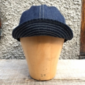 Rising Sun Mechanist Cap Indigo Selvedge