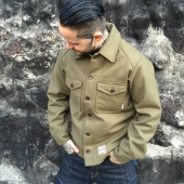 Eat Dust Quilted Shirt Khaki