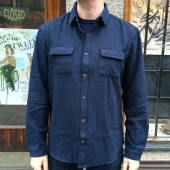 Penguin 2 Pocket Overshirt L/S Woven