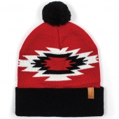 Brixton Pom Rodeo Beanie Red