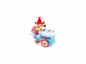 Ice cream man tin toy