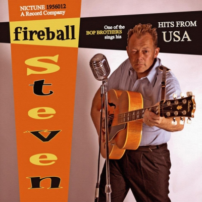 Fireball Steven - Hits from USA in the group Music & Film / Music / Vinyl at Sivletto - Skylark AB (nictune-1956012)