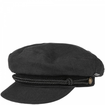 Stetson Riders Cap Linen Black in the group Men / Headwear / Captain's Caps at Sivletto - Skylark AB (stetson-6293104-1)