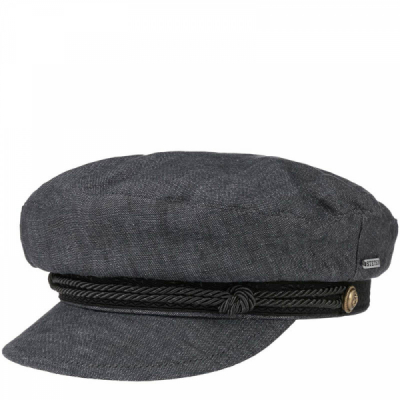 Stetson Riders Cap Linen Navy in the group Men / Headwear / Sailor hats at Sivletto - Skylark AB (stetson-6293104-31)