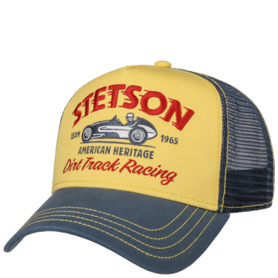 Stetson Trucker Cap Dirt Track Racing in the group Men / Headwear / Trucker/baseball caps at Sivletto - Skylark AB (stetson-7751154-29)