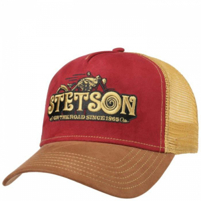 Stetson On the Road Trucker Cap in the group Men / Headwear / Trucker/baseball caps at Sivletto - Skylark AB (stetson-7756105-68)