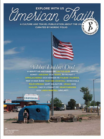 American Trails #4 Swedish Edition in the group Magazines at Sivletto - Skylark AB (trails-4)