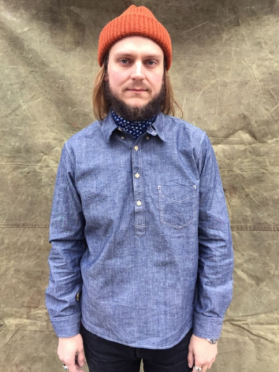 LVC 1920's One Pkt Sunset Shirt Made in USA in the group Unionville / Long sleeve at Sivletto (w10100)