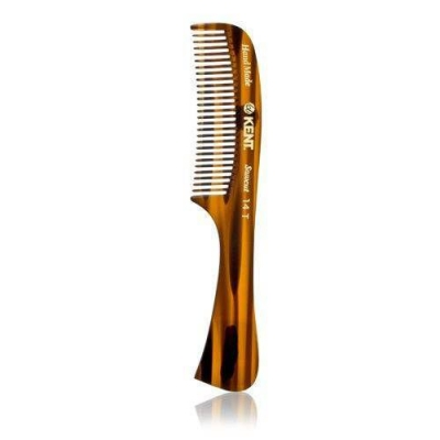 Kent Beard Comb w Handle 14T in the group Hair and skincare / Combs at Sivletto - Skylark AB (w10141)