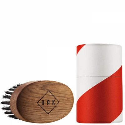 OAK Beard Brush in the group Hair and skincare / Mustache and beard / Beard brushes at Sivletto - Skylark AB (w10153)