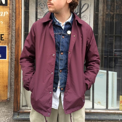 Dickies Torrance Coach Jacket Maroon in the group Men / Jackets and coats at Sivletto - Skylark AB (w10460)