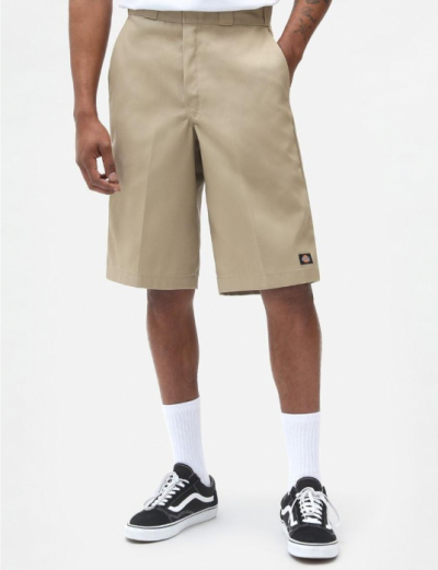 Dickies 13 inch Multi-Pocket Work Shorts Khaki in the group Clearance / Men / Pants at Sivletto - Skylark AB (w10486)