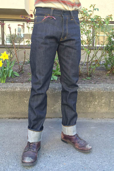 Sarva Riekte Sami Selvedge in the group Unionville / Jeans at Sivletto (w10504)
