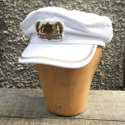 Stetson Allenport Cotton White in the group Men / Headwear / Sailor hats at Sivletto - Skylark AB (w10520)
