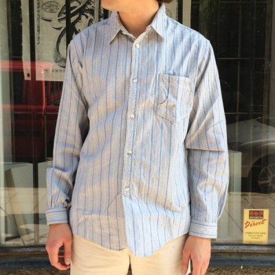 Red Cloud Pastel Stripe Workshirt in the group Unionville / Sale at Sivletto (w10652)