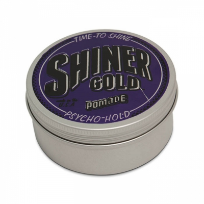Shiner Gold Psycho Hold in the group Hair and skincare / Pomade / Water soluble pomade at Sivletto - Skylark AB (w10705)