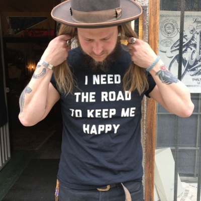 Blackdays I Need the Road T-shirt in the group Unionville / Short sleeve at Sivletto (w10776)