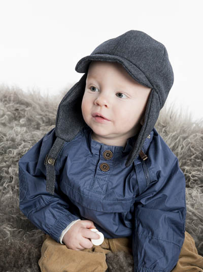 CTH Uno Jr Herringbone Blue in the group Kids / Accessories at Sivletto - Skylark AB (w10795)