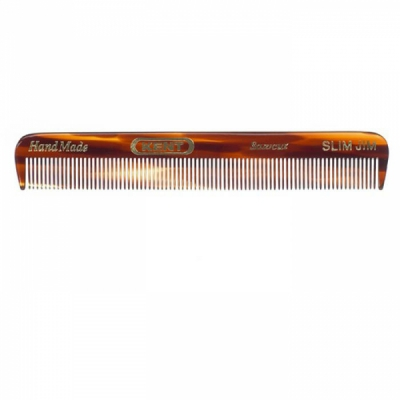 Kent Slim Jim 117mm Pocket Comb  in the group Hair and skincare / Combs at Sivletto - Skylark AB (w10826)