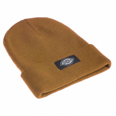 Dickies Yonkers Brown Duck Beanie in the group Men / Headwear at Sivletto - Skylark AB (w11032)
