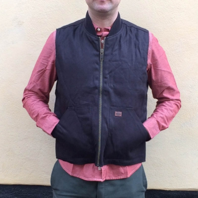 Dickies Dellwood Vest Black in the group Clearance / Men / Jackets at Sivletto - Skylark AB (w11035)