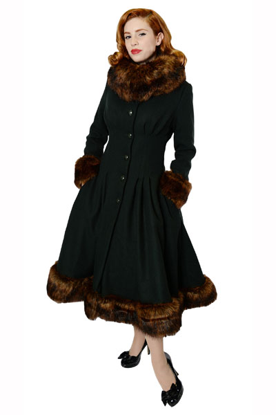 0da0636d27a6 Collectif Clothing Pearl coat in the group Women / Coats and jackets at  Sivletto - Skylark