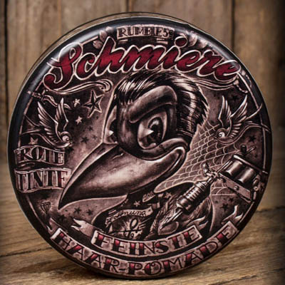 Schmiere Red Ink Pomade medium in the group Hair and skincare / Pomade / Oil based pomade at Sivletto - Skylark AB (w11136)