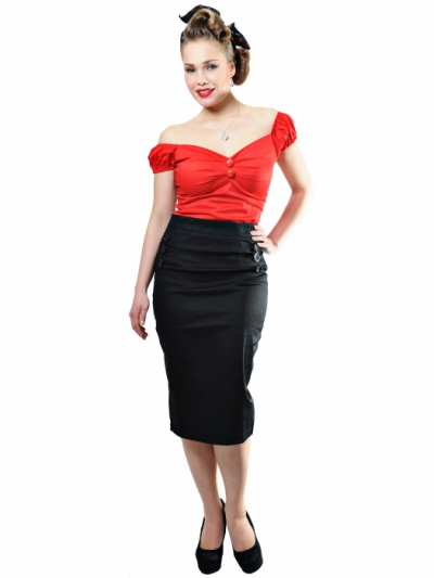 Collectif Hilda skirt in the group Women / Skirts at Sivletto - Skylark AB (w11232)