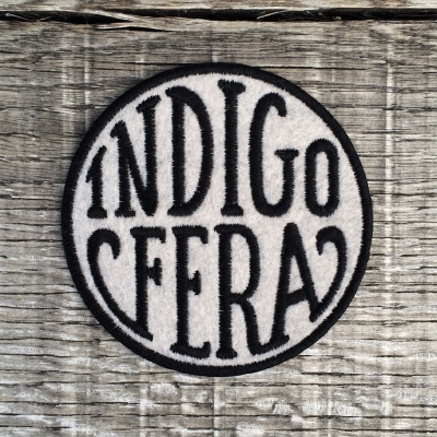 Indigofera Logo Patch Grey in the group Unionville / Accessories at Sivletto (w11284)