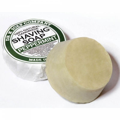 Dr K Shaving Soap Peppermint in the group Grooming / Shaving / Shaving soap, oil and cream at Sivletto - Skylark AB (w11363)