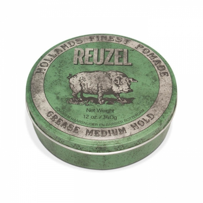 Reuzel green big hog size in the group Hair and skincare / Pomade / Big tubs at Sivletto - Skylark AB (w11404)