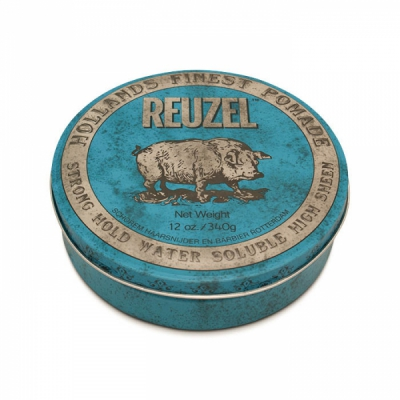 Reuzel blue big hog size in the group Hair and skincare / Pomade / Big tubs at Sivletto (w11406)