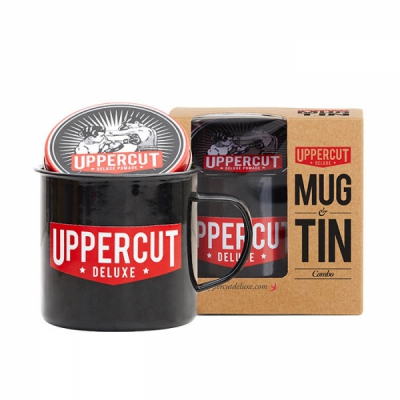 Uppercut mug & tin combo in the group Hair and skincare / Pomade at Sivletto (w11417)