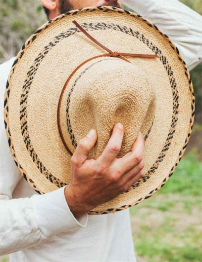 Brixton Holland Light Tan Straw Hat in the group Men / Headwear / Hats at Sivletto - Skylark AB (w11454)