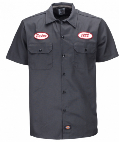 Dickies Rotonda South Charcoal Grey in the group Sale! / Men / Shirts at Sivletto - Skylark AB (w11475)