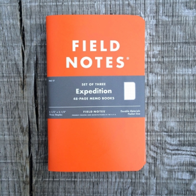 Field Notes Expedition Edition Set of 3 in the group Home and stuff / Office and stationary at Sivletto - Skylark AB (w11512)