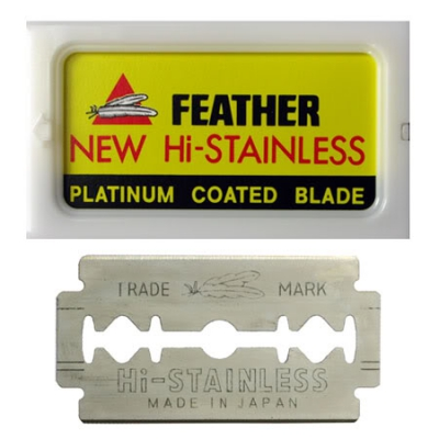 Feather Double Edge Razor Blades in the group Hair and skincare / Shaving / Razor blades at Sivletto - Skylark AB (w11534)