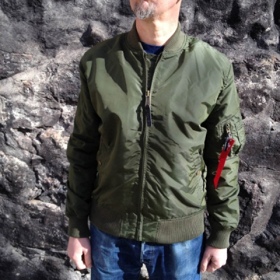 Alpha MA-1 TT Dark Green in the group Clearance / Men / Jackets at Sivletto (w11603)