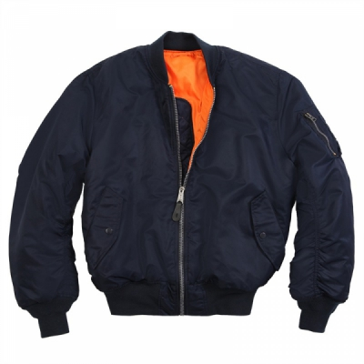 Alpha MA-1 TT Replica Blue in the group Sale! / Men / Jackets at Sivletto - Skylark AB (w11605)