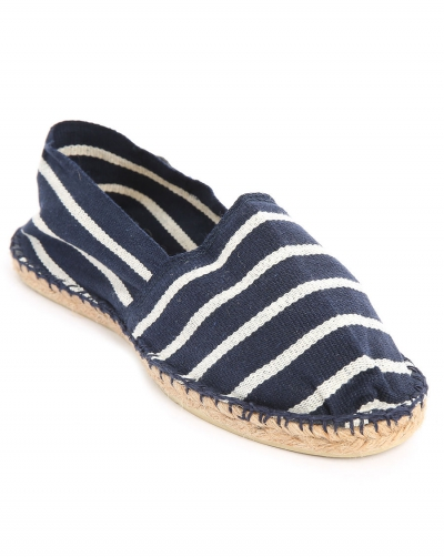 Armor-Lux Espadrilles Rich Navy / Nature in the group Clearance / Men / Shoes at Sivletto - Skylark AB (w11626)