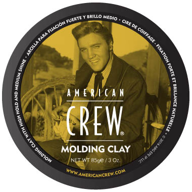 American Crew The King Molding Clay in the group Hair and skincare / Pomade / Water soluble pomade at Sivletto - Skylark AB (w11710)