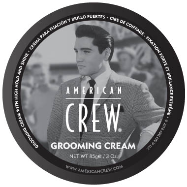 American Crew The King Grooming Cream in the group Hair and skincare / Pomade at Sivletto - Skylark AB (w11832)