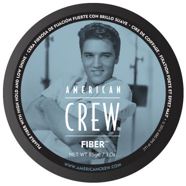 American Crew The King Fiber in the group Hair and skincare / Pomade at Sivletto - Skylark AB (w11834)