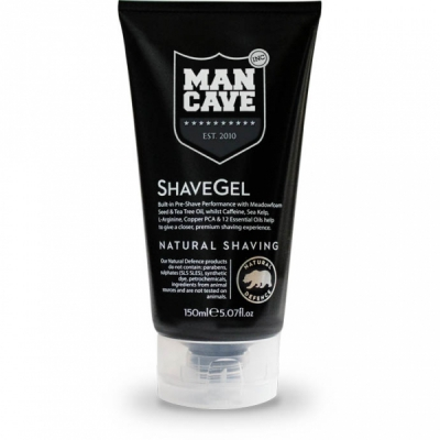 ManCave ShaveGel in the group Hair and skincare / Shaving / Shaving soap, oil and cream at Sivletto - Skylark AB (w11844)