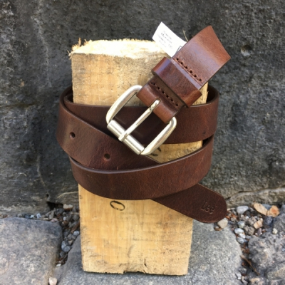 Lee Slim Roller Buckle Belt Dark Brown in the group Clearance / Men / Misc at Sivletto - Skylark AB (w11912)