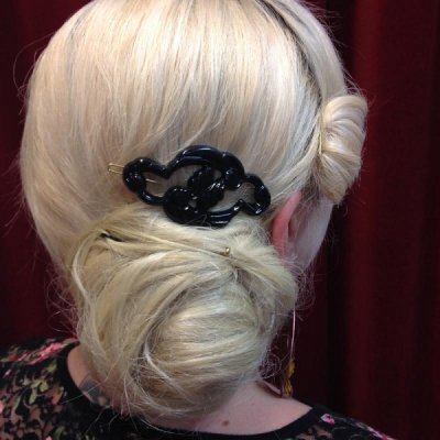 Bergelin Jugend hair clip black in the group Sale! / Women / Misc at Sivletto - Skylark AB (w11913)