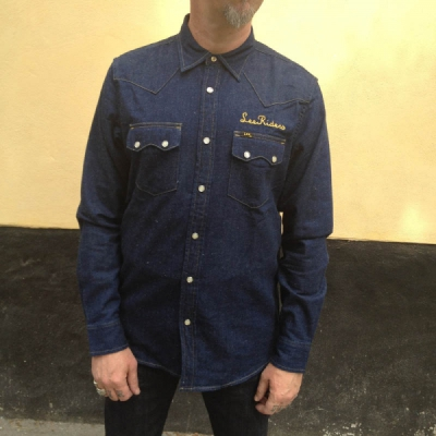 Lee 101 Rider Shirt Star Sign in the group Clearance / Men / Shirts at Sivletto (w11945)